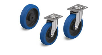 POBS stainless steel wheels and castors
