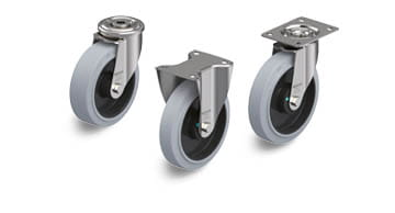 POEV stainless steel wheels and castors