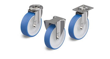 POTHS stainless steel wheels and castors