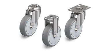 TPA stainless steel wheels and castors