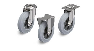 VPP stainless steel wheels and castors