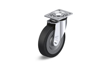 SE swivel castors with plate